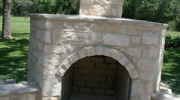 Outdoor Fireplaces San Antonio and Boerne TX-Outdoor-Fireplaces ...